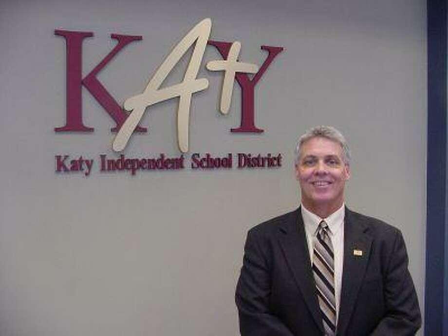 Katy ISD Athletic Director Rusty Dowling.