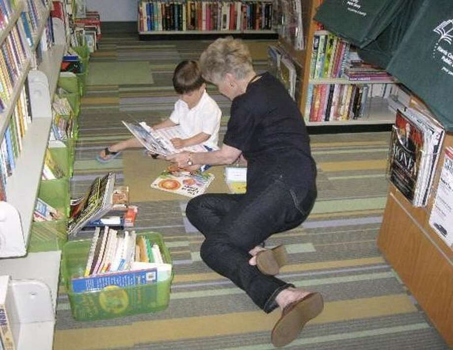 People of all ages enjoy the FOLK Used Bookstore. The Friends of the Library Kingwood is asking community residents to join FOLK for $20 per year. The money goes to enhance the overall quality of the library, and members receive a 15 percent discount in the bookstore.