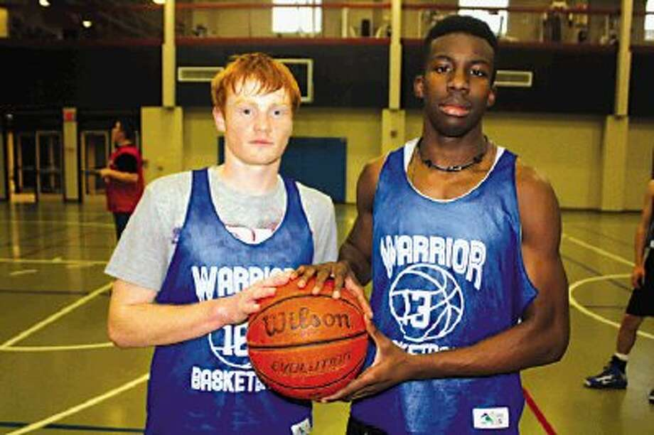 Seniors Cody Schneider (left) and Joseph Thomas will be trying to extend what have been terrific high school careers Tuesday night when FBCA begins the TAPPS state playoffs at home against The Woodlands Preparatory School. Game time is 6 p.m.