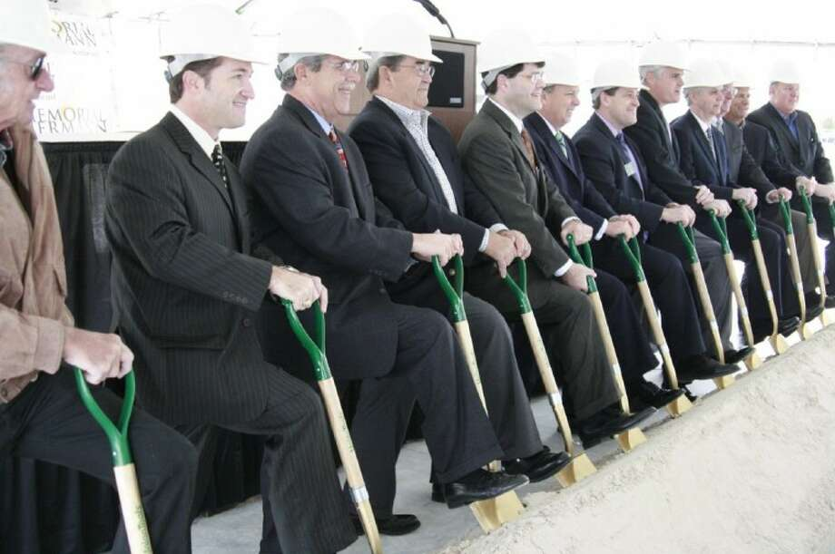 Memorial Hermann celebrated the groundbreaking of the first-of-its-kind Convenient Care Center for the Lake Houston area Feb. 24.