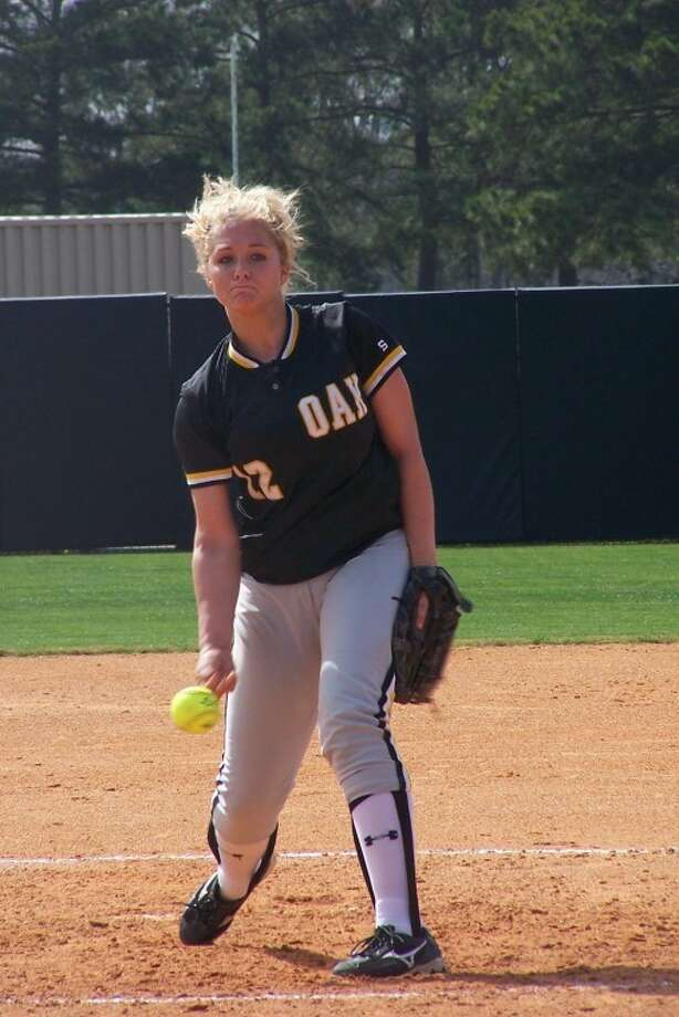 Klein Oak High senior pitcher Jill Bussell and the Lady Panthers are ranked No. 1 in the national ESPN Rise Top 50 rankings. (Submitted photo)