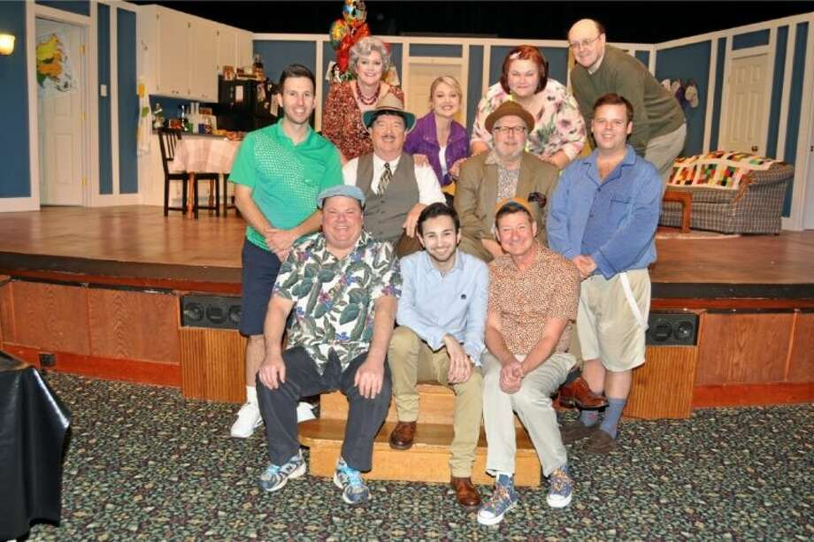 "Ready to make you laugh and cry in Art Park's ""The Boys Next Door"" are the lovable, hilarious and pathetic ""boys"" and their cohorts: Seated front, left to right - Rusty Groos (Norman), Alex Trevino (Jack), Fred White (Arnold); middle row - Chris Piper (Barry), Bob Stahl ( Mr. Hodges/Hedges/Corbin), Don Piper (Klemper), Ryan Baker (Lucien) and top row - Debbie Reno (Mrs. Fremus/Senator Clarke), Cheryl Westmoreland (Mrs. Warren/Clara) and Director Larry Arnhold.They will be around to entertain you and touch your heart weekends through Sunday, March 3. Call 281-794-2448 for information or reservations. Photo: JACKIE WELCH"