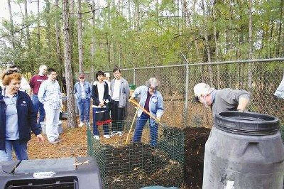 Master gardeners will teach a free composting class Saturday.