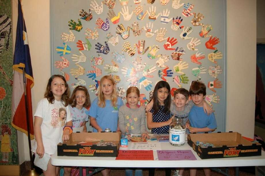 A group of third-graders at Roberts Elementary challenged their school community to make 1,000 paper cranes. Their project raised funds as well as two flocks of 1,000 paper cranes, which are a sign of good luck and well-wishes in Japan.
