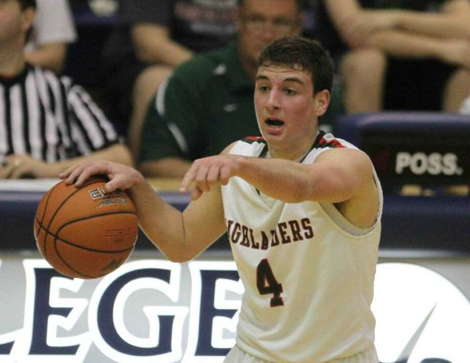 The Woodlands point guard Hayden Galatas (4) and the Highlanders won the 14-5A district title in 2012-13, helping TWHS earn points toward the Lone Star Cup standings.