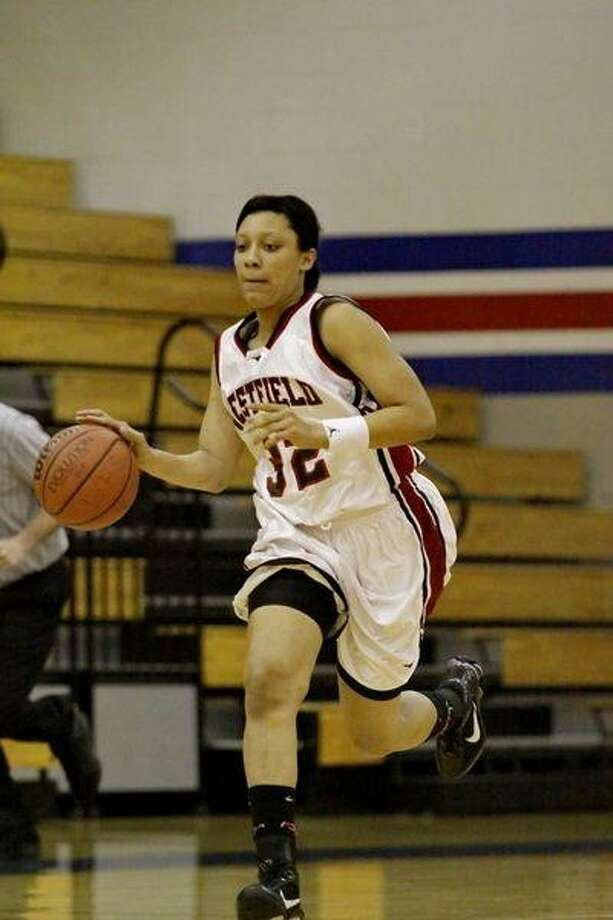 Senior post Shaleatha Carrier scored 10 points in Westfield's lost to College Park. (Photo by KJWESTPHOTOS.COM)