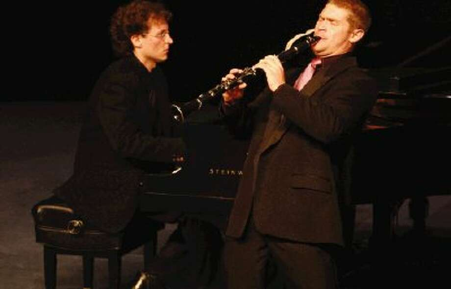Clarinetist Jonathan Jones is shown here at the Crighton Theatre in 2008 when he won a division Gold Medal in the Young Texas Artists Music Competition.