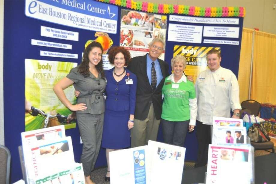 Bayshore Medical Center's sponsor booth from last year. Bayshore Medical Center is once again one of the major sponsors of the Pasadena Chamber of Commerce Business Expo. Photo: Courtesy Pasadena Chamber Of Com