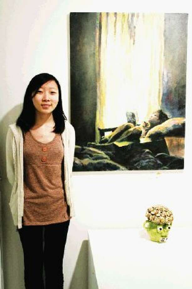 Ruth Lin, Houston ISD, High School for the Performing and Visual Arts, Gold Key entry (special award: Trustee's Exemplary Award) (portfolio). Photo: Amanda Arnold / Harris County Department of Education