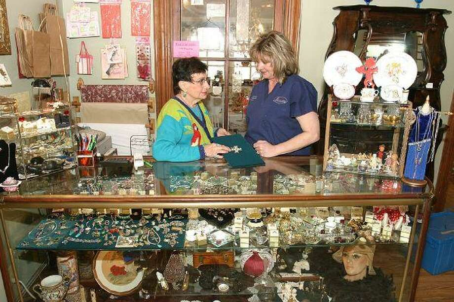 Garrett Cottage Antiques, located at 207 Liberty, is one of the many shops and boutiques bring shoppers to historic downtown Montgomery. The Garrett Cottage features furniture, vintage jewelry pottery and many other types of collectibles.