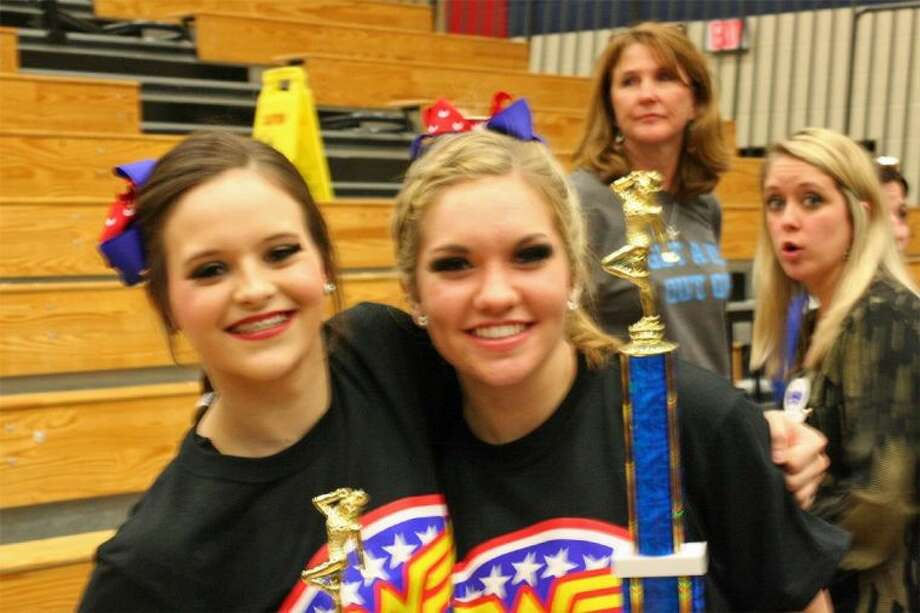 Pictured Solo Champions Katelyn Begnaud (left) and Olivia Trevino (right). Photo: Courtesy Friendswood ISD