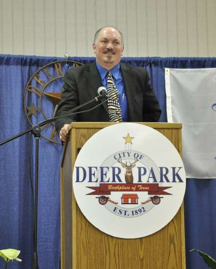 Deer Park Chamber of Commerce President and CEO Tim Culp made his introduction to members of the city and community at Deer Park's State of the City Address held last Thursday at the Jimmy Burke Center.