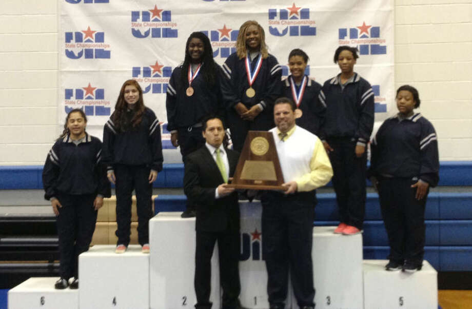 Cy Ridge girls' wrestling broke through and nabbed the Class 5A crown this year.