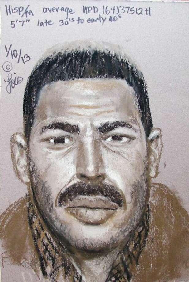Sketch of suspect.