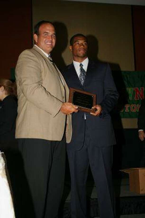 Stratford's Terrance Lloyd was one of 30 players named to the Touchdown Club's Pre-season All-Greater Houston Team.