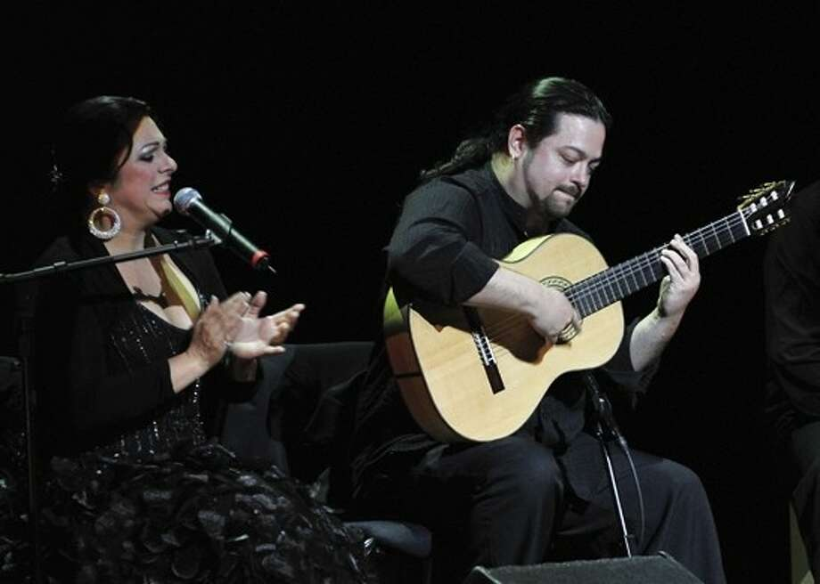 Solero Flamenco co-founders, Irma La Paloma (left) and Jeremías García (right), will teach workshops and perform as part of the 2011 Houston Spanish and Flamenco Festival at San Jacinto College South, April 14-16.