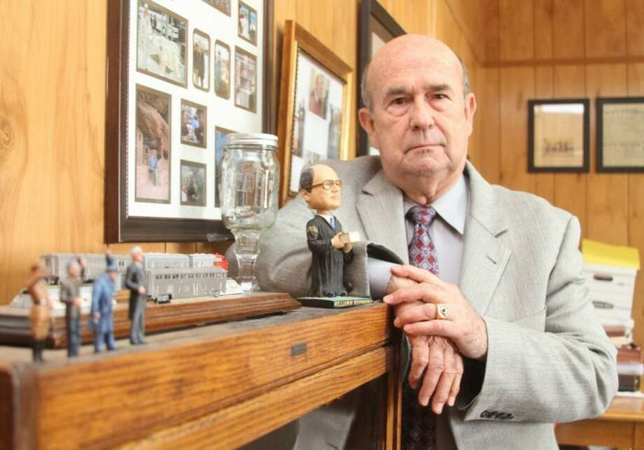 """Even though San Jacinto County Criminal District Attorney Richard Countiss said his term is just the latest of many surprising twists his life has taken, he is enjoying making a difference. """"I've been able to put together, in my view, a very, very good office,"""" said Countiss. Photo: JASON FOCHTMAN"""