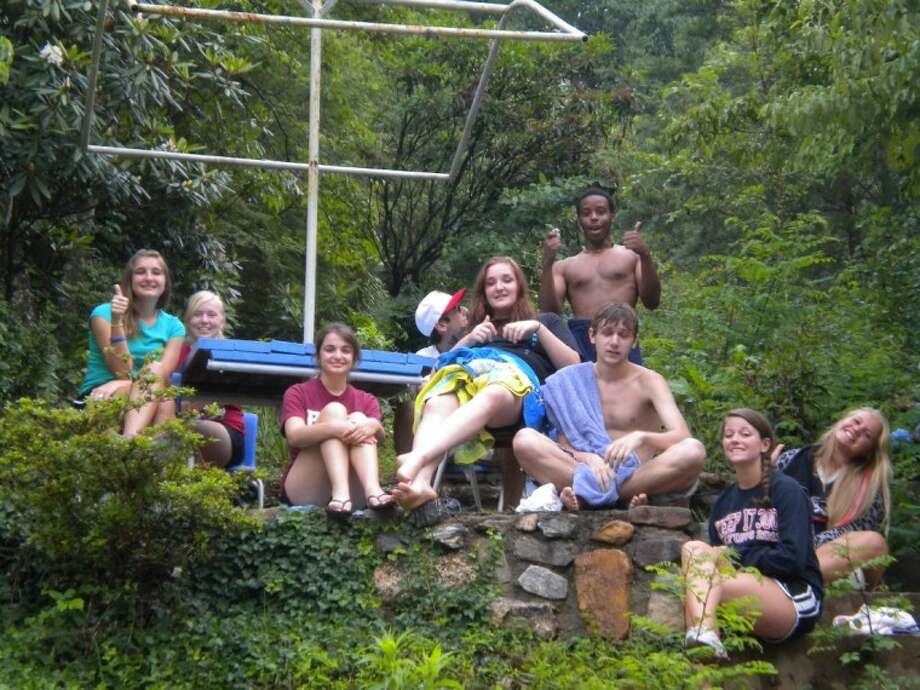 The youth at Messiah Lutheran Church in Cypress go on various retreats and other social events to promote strong relationships in the group.