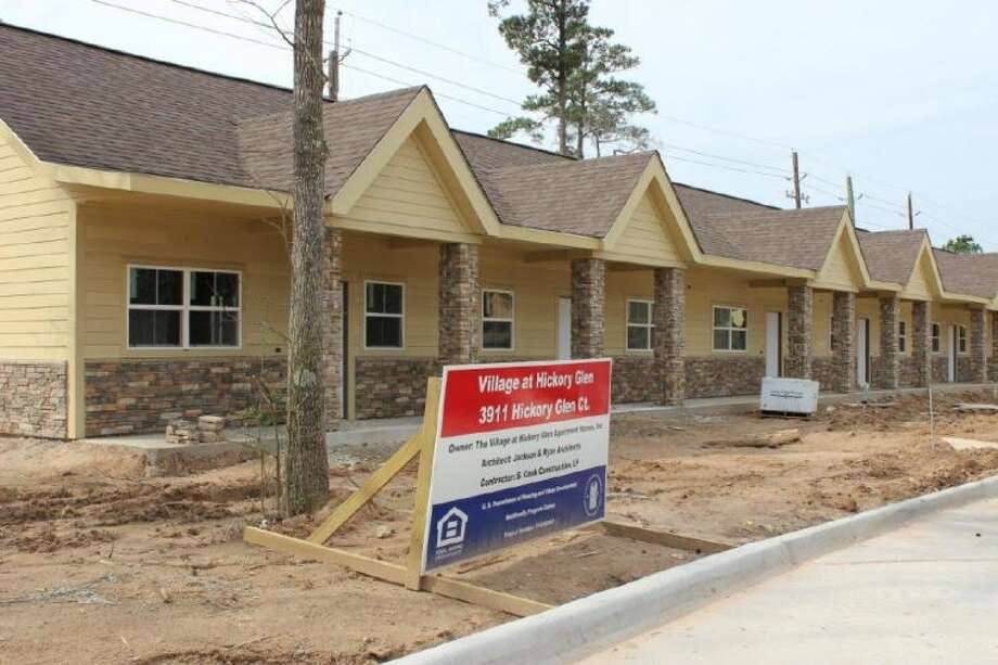 The Village Learning and Achievement Center is nearing completion of the construction of a 15-unit apartment complex in Kingwood for individuals with developmental disabilities.