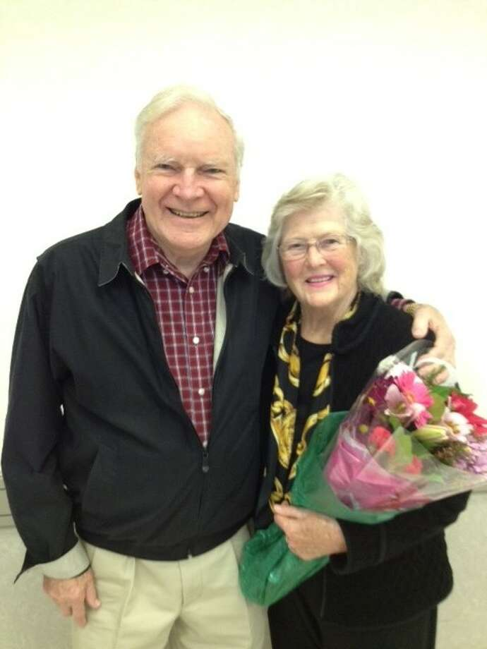 Neal and Ginny Smith have been married for 56 years and were honored at St. Anthony of Padua's World Marriage Day Feb. 5.