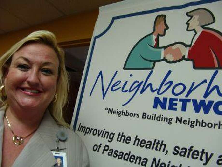 Karen Hollen stands by the goals of the Neighborhood Network, a division of the city of Pasadena, which promotes residents to take ownership of their neighborhoods.