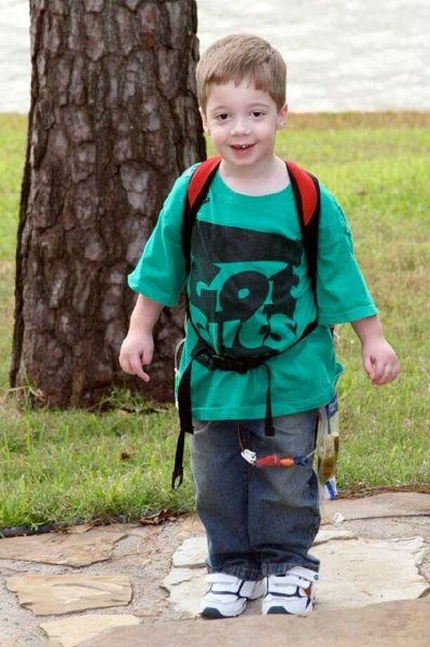 Cooper Knight, 3, of Klein, is battling a rare disease, known as Chronic Intestinal Pseudo-Obstruction (CIPO). Klein High football alumni and the Texas A&M Corps of Cadets — among other groups — have raised money in Knight's honor.