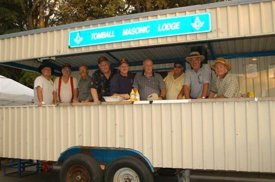 The Tomball Masonic Lodge sold food and drinks during Tomball Night last year. The group was one of several vendors who took the opportunity to use Tomball Night as a fundraiser for their organizations.