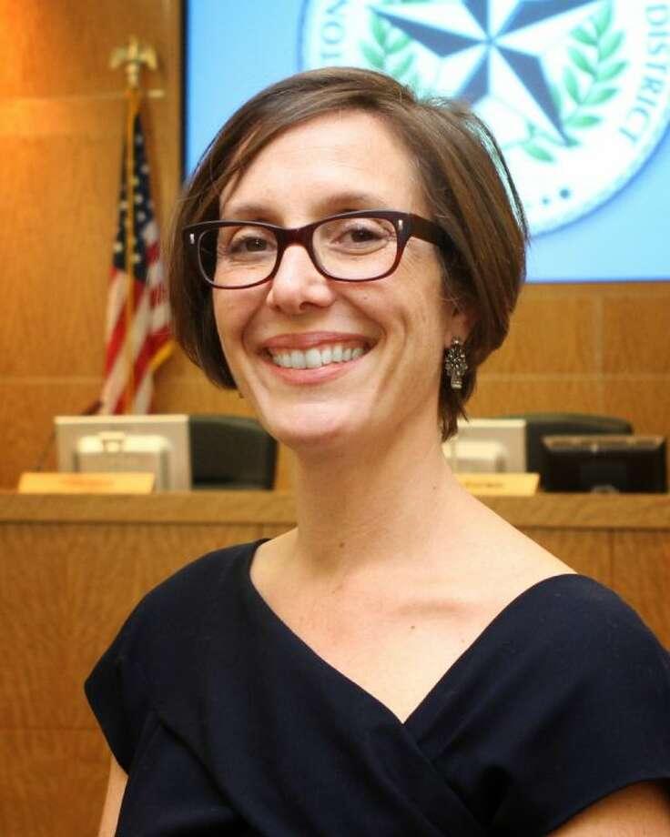 HISD Board President Anna Eastman