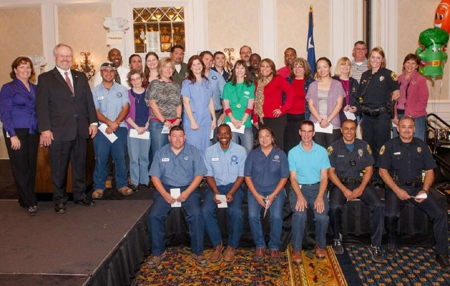 The City of Sugar Land announced 30 Champion Employees during the 2012 Employee Banquet.