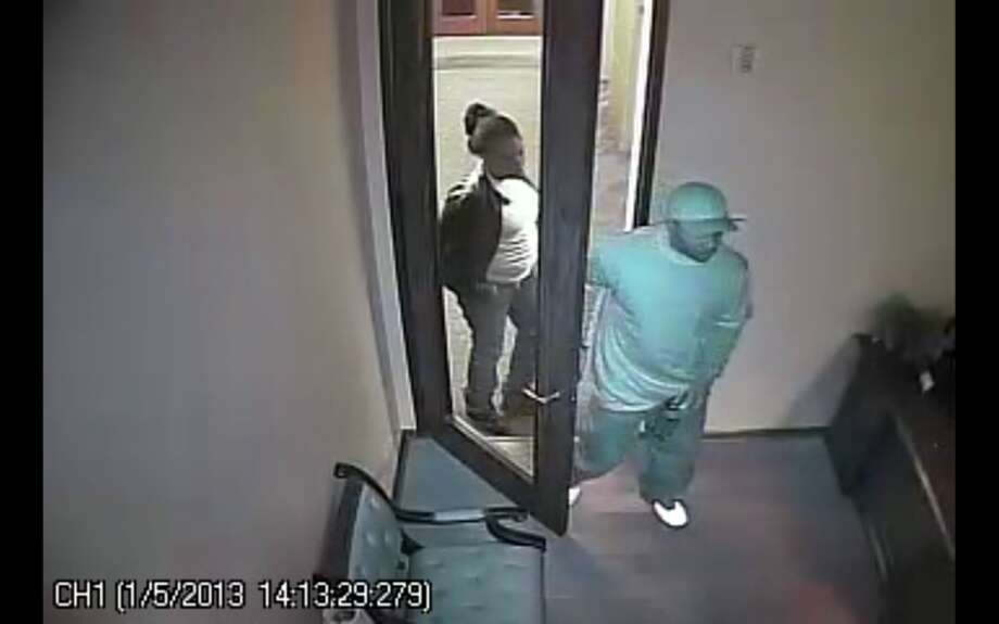 Sugar Land police are looking for two men and a woman who burglarized two businesses in an office building at 1 Sugar Creek Blvd. Surveillance Video of the burglary has been posted at www.sugarlandtx.gov/_blind/burglary-1-8-13/