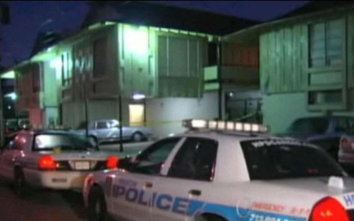 Police descended on a Montrose apartment building after a man called to report his roommate had been stabbed Friday morning.