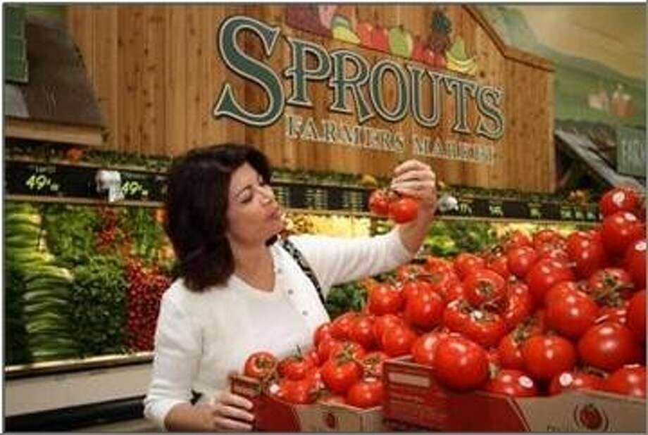 Sprouts is a neighborhood grocery store with the feel of an old-fashioned farmers market, featuring prominently displayed mountains of fresh fruits and vegetables, barrels of wholesome grains, nuts and sweets, full-service deli, meat and seafood counters, complete with beef and sausages ground in-store. Photo: Sprouts Farmers Market