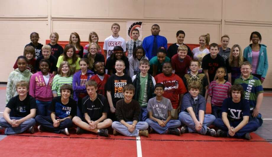 Lincoln Junior High students travelled to Tarkington High School to participate in UIL District 22-AAA Academic competition. Competitors included (left to right, front row to back row) row 1 — Klayten White, Irie Woods, Blayne Mizell, Jack Patrick, Shiv Karumsi, Matt Coers, Cody Welch; row 2 — Tiann Perry, Madalyn Chambers, Emma Schoenemann, Faith Fickey, Corinthian Curtis, Mason Harper, Jimmie Gann, Richard Carrington, Dustin Welch, Rikki Cantu, Garrett Richardson; row 3 — Michael Quiser, Craig Erlanson, Emily Whisenant, Angel Ramber, Ikea Byrd, Christina Harris, Nautica Norman, Robert Horton, Brock Barbay, Markayla Allen; row 4 — Artesiane Burnett, Kaytlynn Blalock, Madison Scruggs, Julianna Amszi, Jimmy Vaughn, Brandon Kelly, Reece Ward, Cody Wheeler, Victoria Quiser, Cheyenne Charnik, and Megan Mills. Photo: Submitted Photo