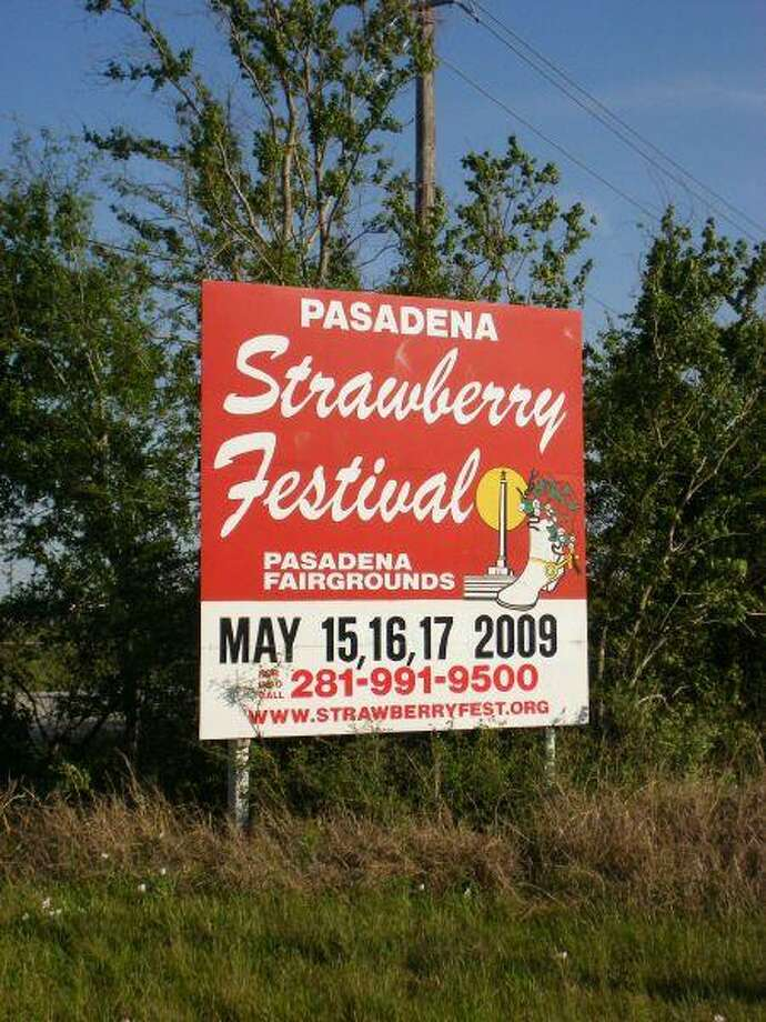 The upcoming Strawberry Festival is just around the corner.
