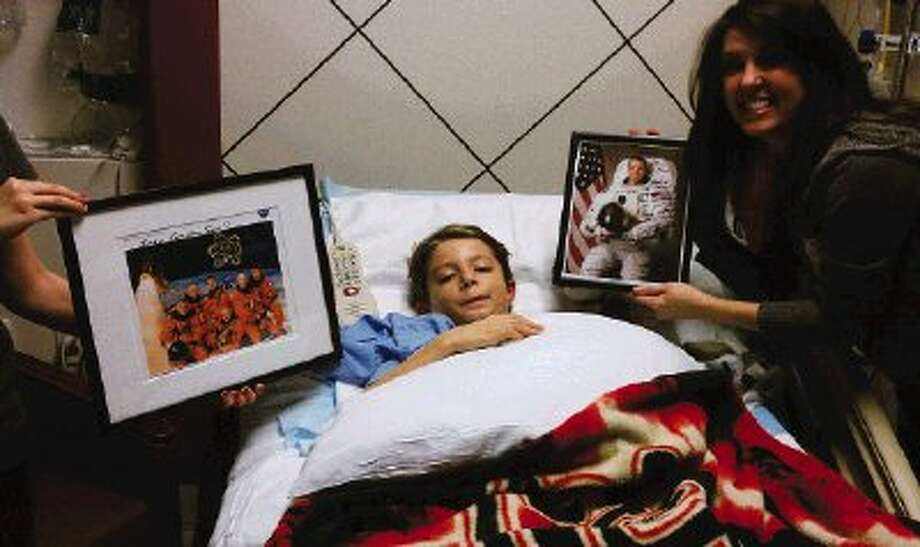 Willow Creek Elementary second-grader Jake Armitage, 8, received some celebrity well-wishes after a ruptured arteriovenous malformation left him practically paralyzed from the neck down.