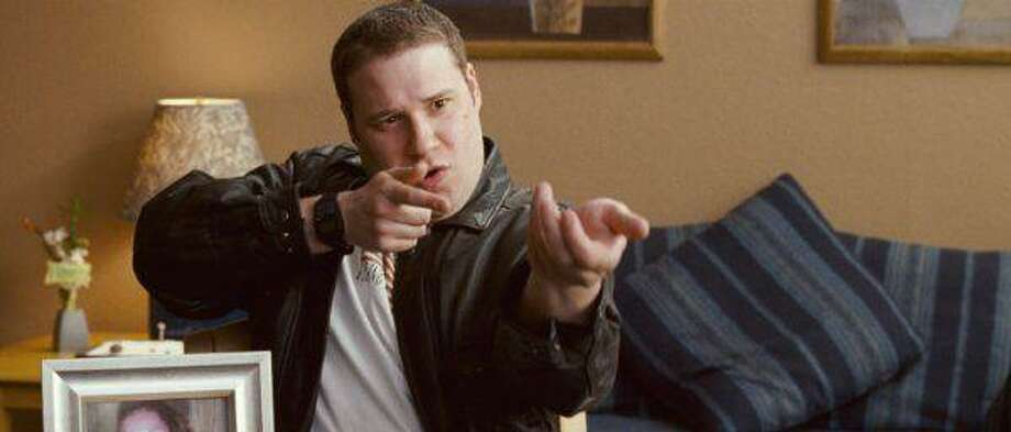 "Seth Rogen is a obsessed mall security officer in ""Observe and Report."""