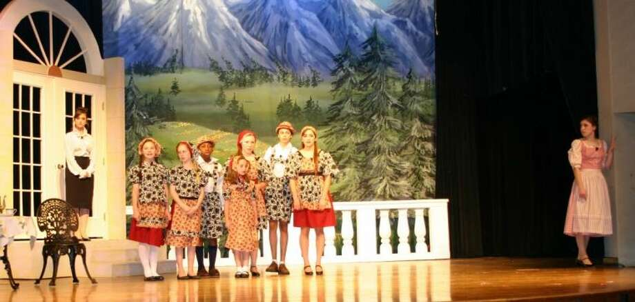 Duchesne Academy and The Regis School students perform in Duchesne's production of The Sound of Music.