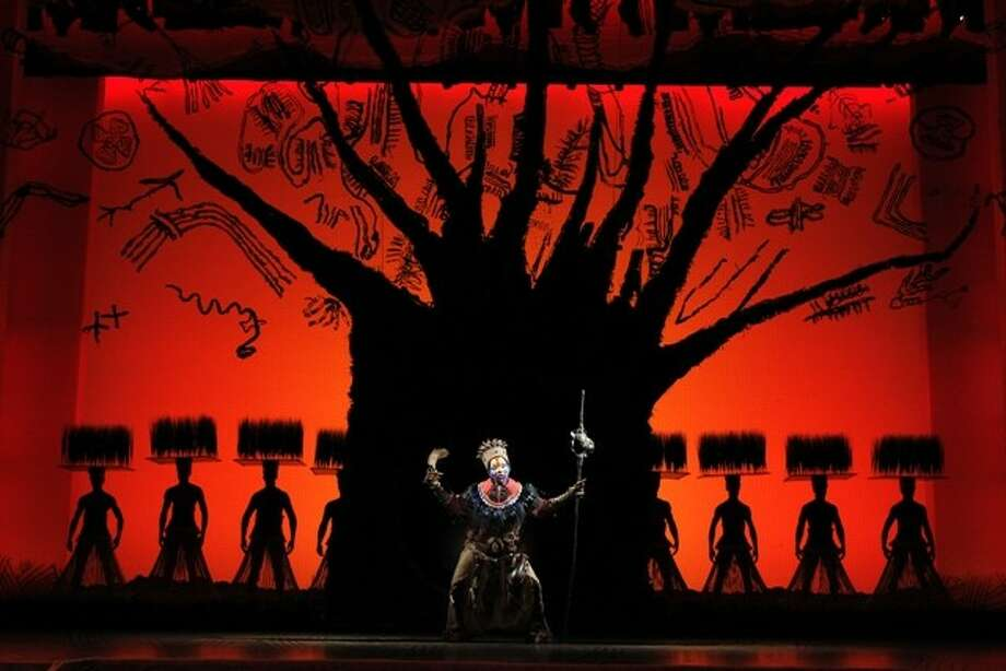 """The Tree of Life from """"The Lion King"""" national tour. (Photo by Joan Marcus, submitted by the Hobby Center for the Performing Arts)"""