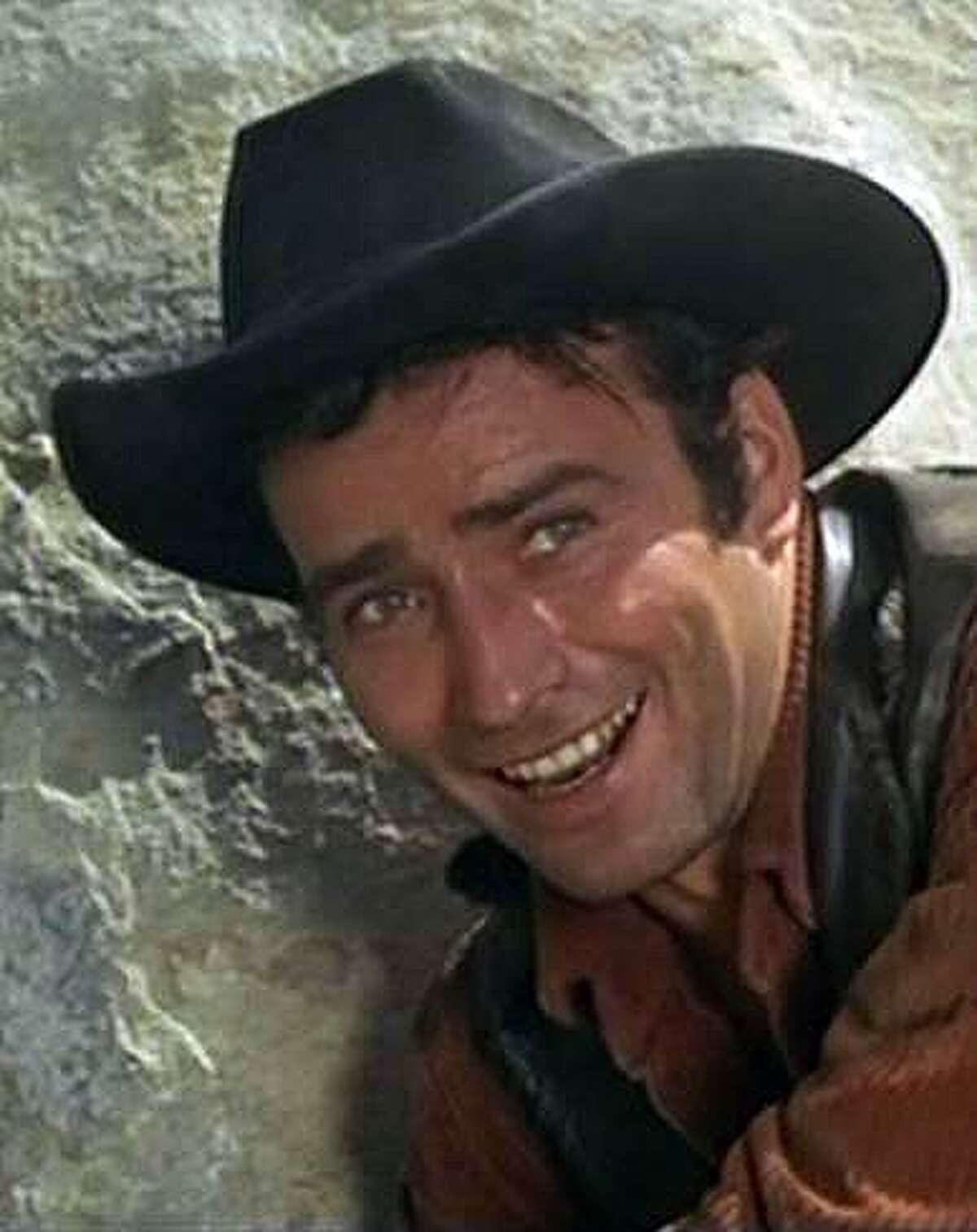 James Drury as seen during his run as the title character in The Virginian.