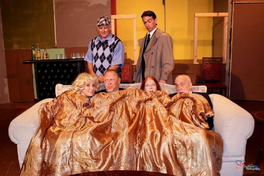 Funny money opens march 15 at pasadena little theatre for Farcical webster