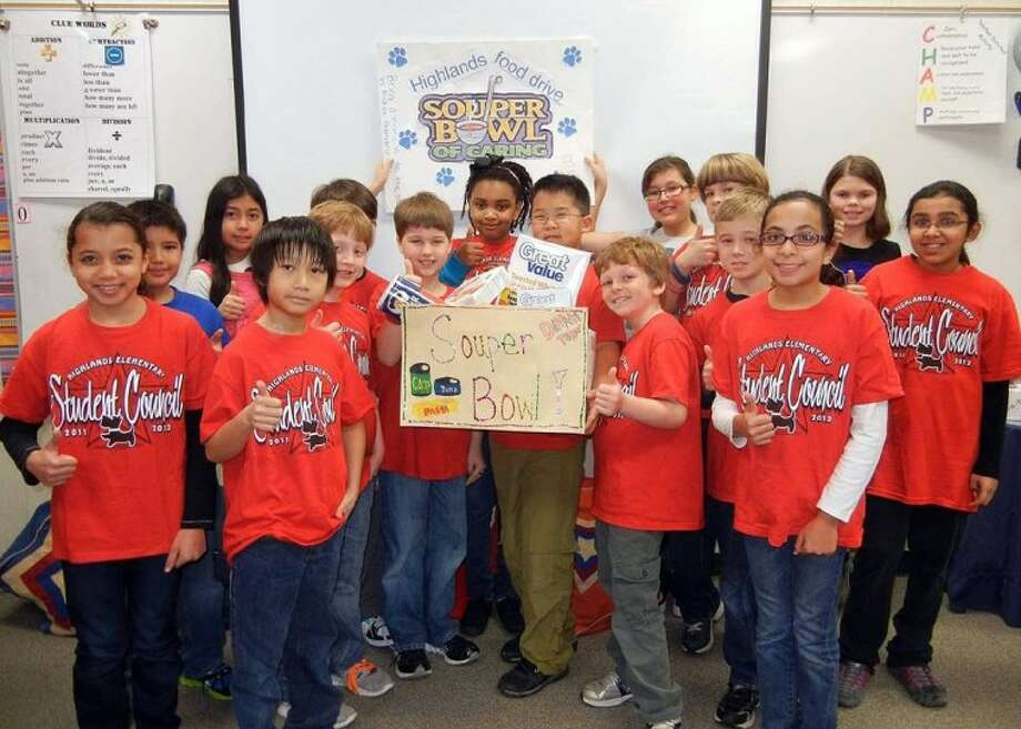 Highlands Elementary School supports Souper Bowl of Caring
