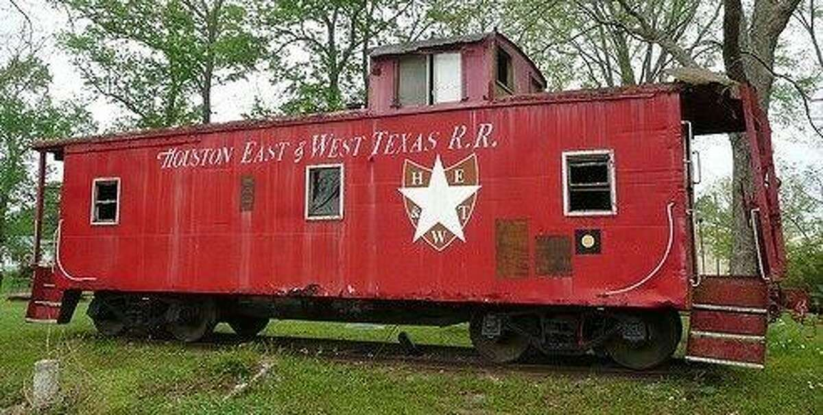 One of the H.E.W.T. train cars that ran through Splendora.