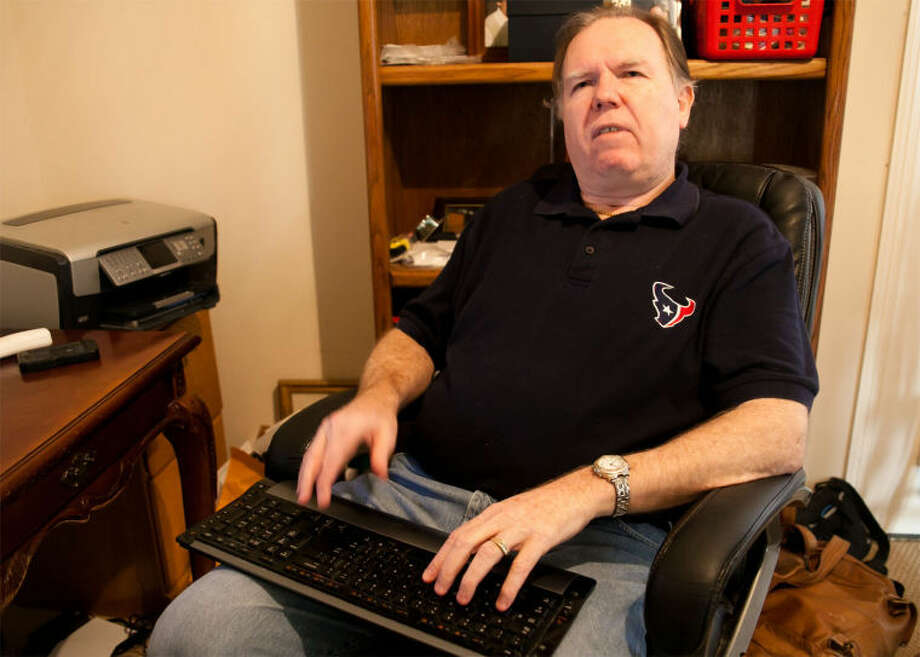 Ron Graham, of Kingwood, hopes the sharing of information, experiences and resources will empower members of the visually impaired community.