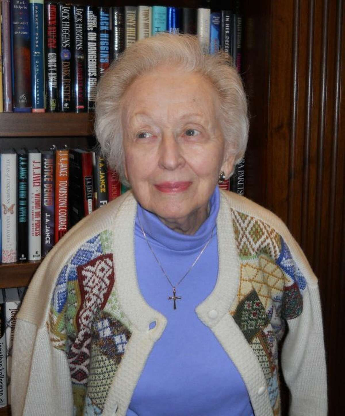Beverly Jones, Parkway Place resident, enjoys volunteering and helping others.