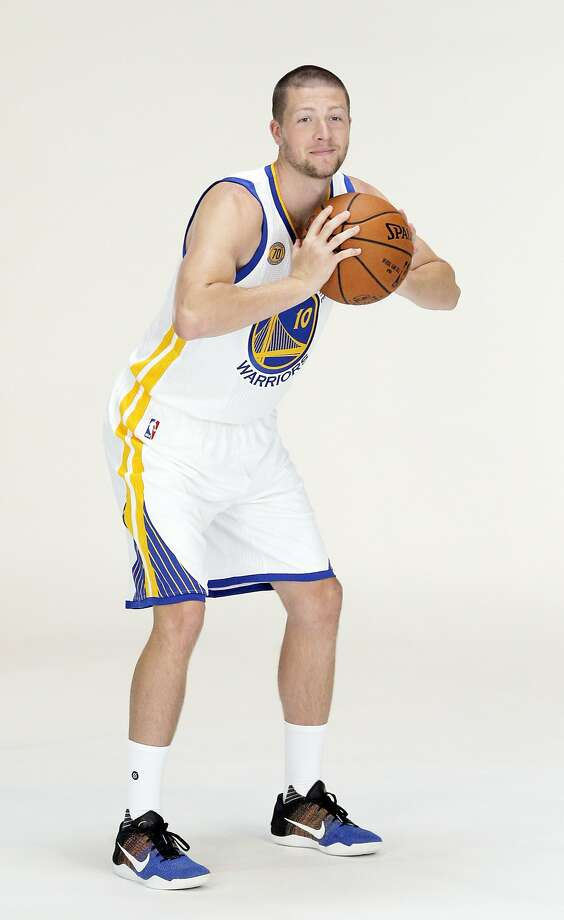 Scott Wood (10) during Warriors Media Day at their practice facility in Oakland, Calif., on Monday, September 26, 2016. Photo: Carlos Avila Gonzalez, The Chronicle