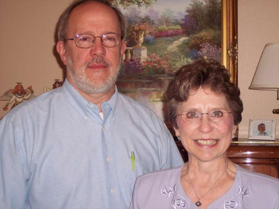 Melanie Bankston, right, with her husband, Buck Bankston, will be honored and direct her last concerts with Strikepoint of Texas April 4 and 5 as she has decided to retire. With her final concert performance, Bankston will conduct five charter members including Pat Brant, Sara Leach, Pam MacNaughton, Beth Moseman and Mary Jo Neidinger as well as a number of returning alumni.