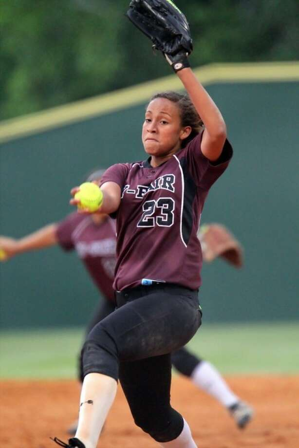 Mariah Gipson led Cy-Fair to a series-clinching win over Memorial on Friday.