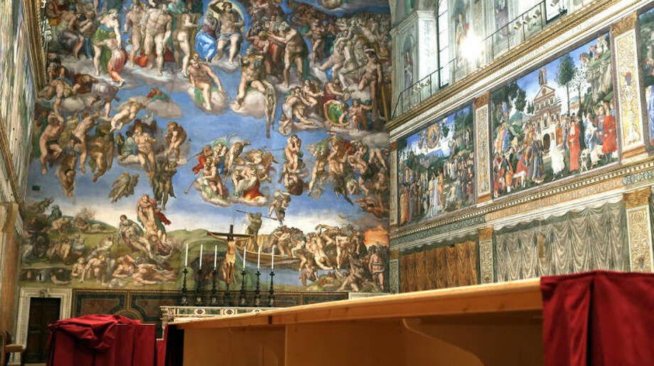 The Sistine Chapel is shown in this file photo.