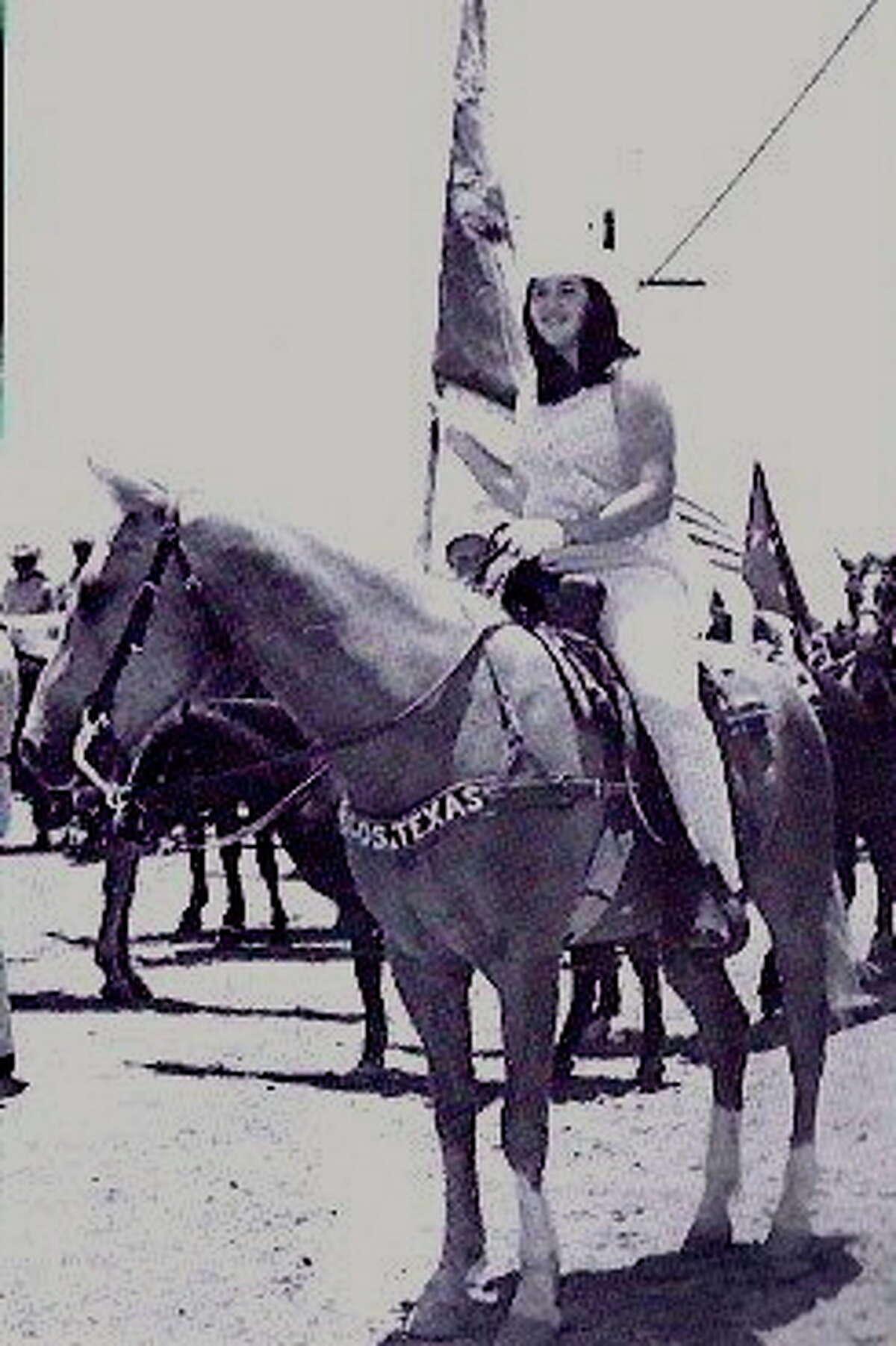 Jane Erskine when she was Sheriff Posse's sweetheart