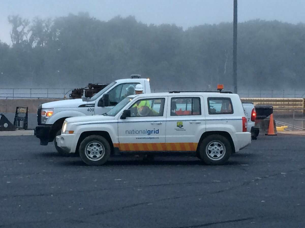 National Grid is working to restore power in southern Saratoga County. (File photo)